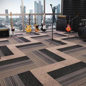Agregatta - Carpete em réguas - Belgotex