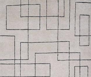 Tapete Desenhado Quadrados irregulares
